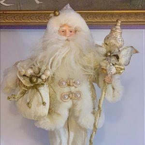 Handmade Santa Ivory
